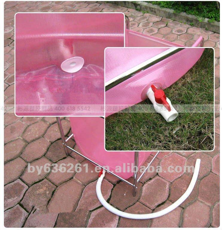 En acier alli dur piscines en plastique 90 65 81 for Piscine plastique dur