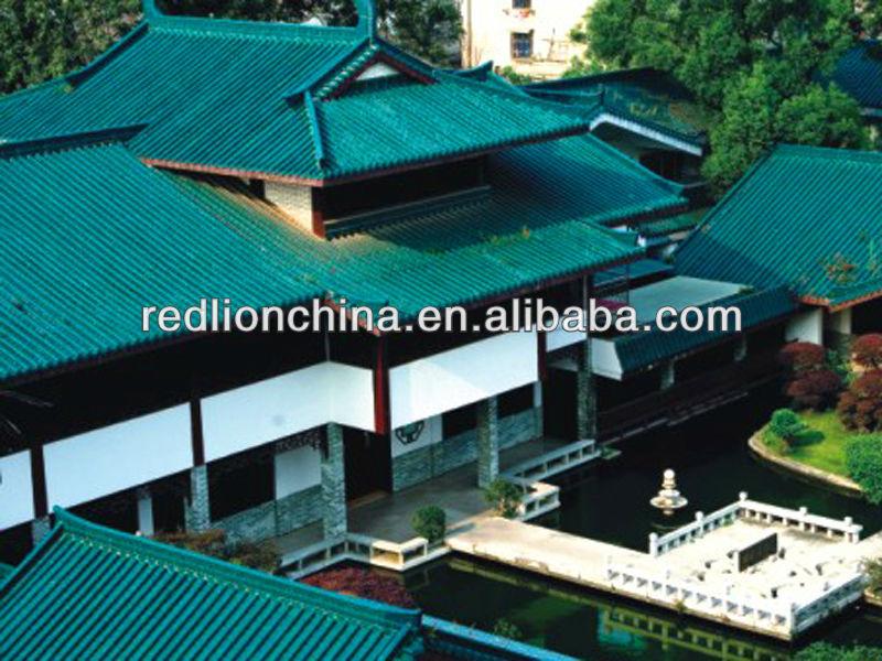 Hexagon concrete shingle clay roof tiles ML-001
