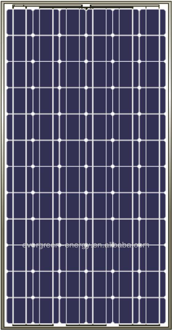 170 TO 190Wp MONOCRYSTALLINE SOLAR PANELS, EVERSUN
