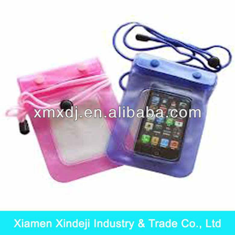 Iphone waterproof bag Promotional PVC waterproof bag for Iphone