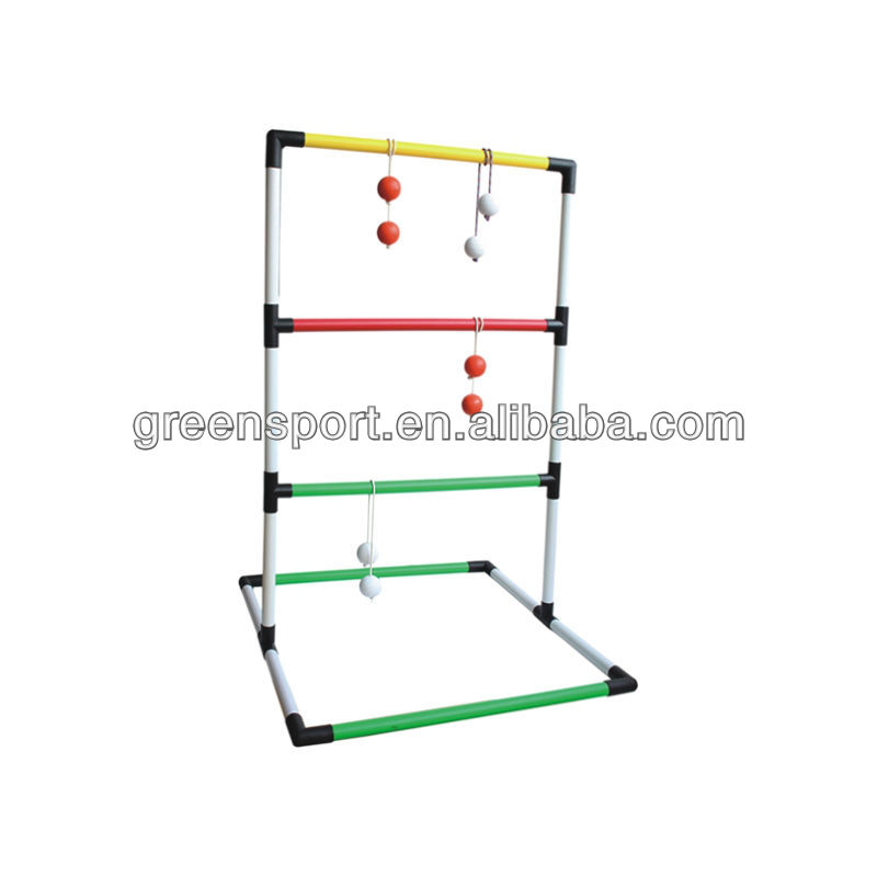 Ladder golf toss game blingo toss ball shelf