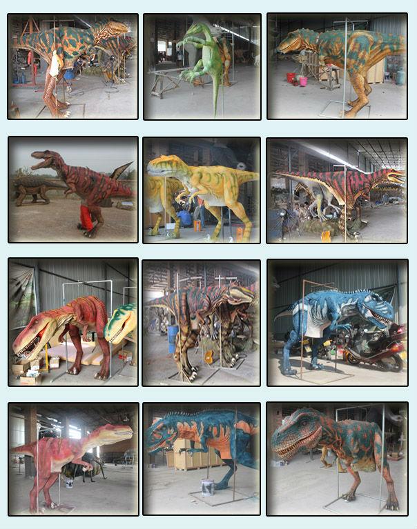 Vivid inflatable dinosaur costume in China