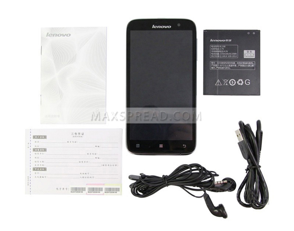 MTK6582m Quad Core 5.5inch IPS 1GB/4GB dual camera dual sim card 3G android 4.2 mobile phone lenovo a850