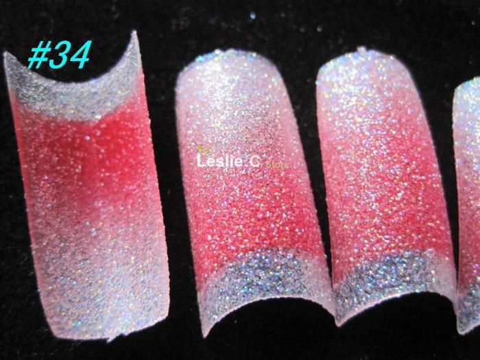 Styles Glitter Nail Tips
