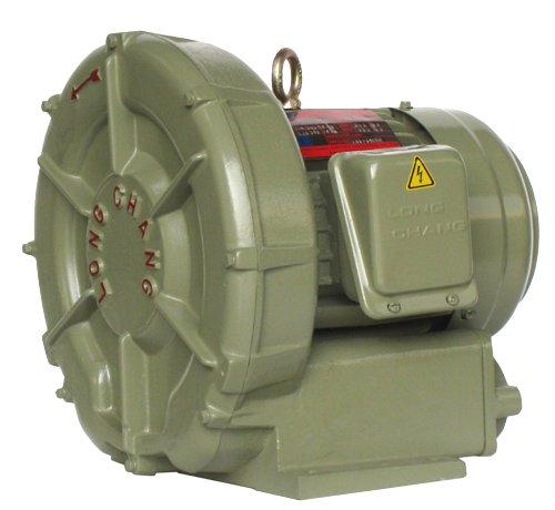 Cast Aluminum Blowers : Hi pressure blower housing of machine is cast by aluminum