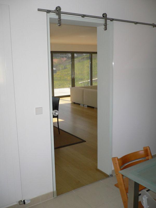 Porta De Correr De Vidro No Quarto ~ Elegante portas de correr de vidro, Divisor de quarto, Portas