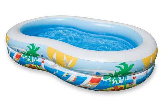 Cartoon Animal Shape Inflatable Swimming Poole For Kids