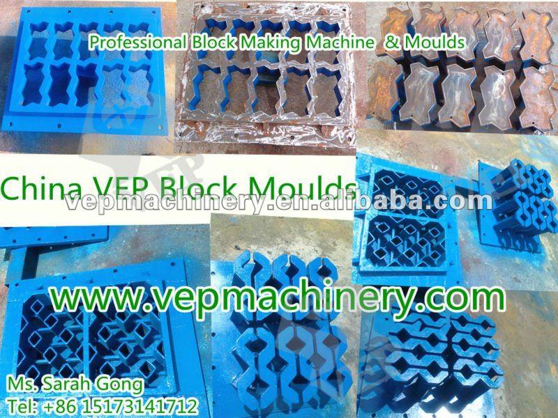 Professional block mould factory pavement paver mold cement mould