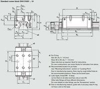 r182152110 роликовые линейные направляющие