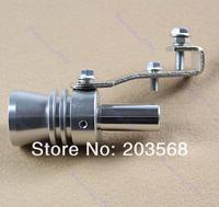 Выхлопная система Universal Car Exhaust Muffler Pipe Whistle Turbo Sound Fake BlowOff Simulator XL