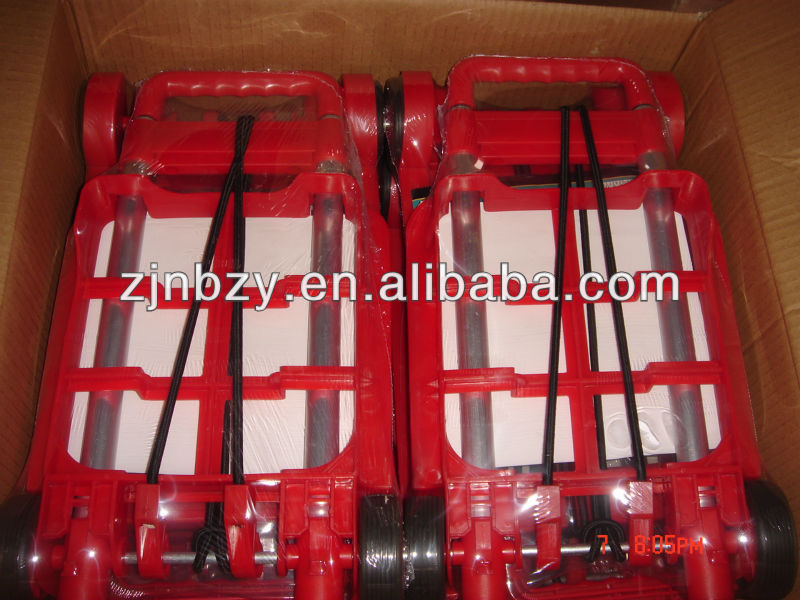 Plastic Luggage Trolly
