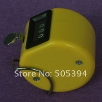 free shipping Hand held Tally Counter 4 Digit Number Clicker Golf#8056