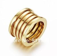 драгоценные best.zero 5-обручальное кольцо, 18 k желтого gold.two боковые колеса с двойной логотипы гравированные кольца, вневременной лучшие обручальное кольцо