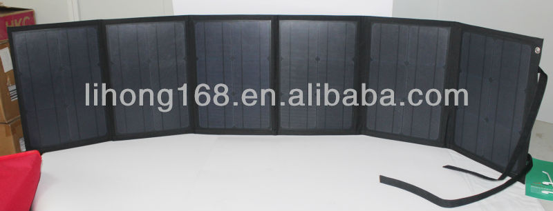 foldable high power 100w solar panel