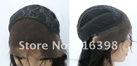 Many Stock Fast Shipping Hot Sales Human Hair Lace Front Wigs with Bangs Natural Color