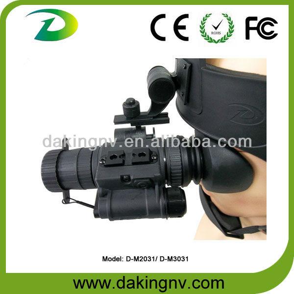 military night vision systems 3 gen head mount helmet mount