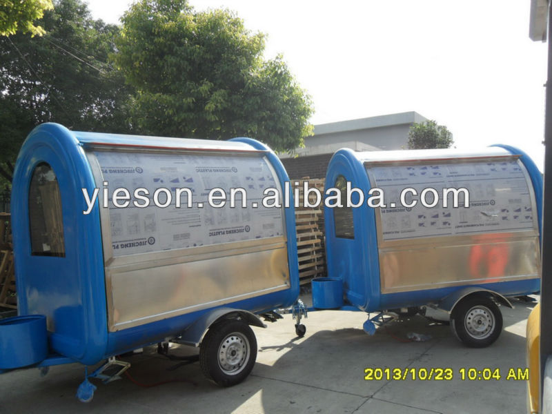 Trailer Hot Dog Cart For Sale
