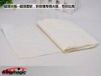 10pcs/lot большой пожар бумага, белая бумага формата флэш-, ультра-тонкий ультра-большой, Волшебный игрушки, фокусов
