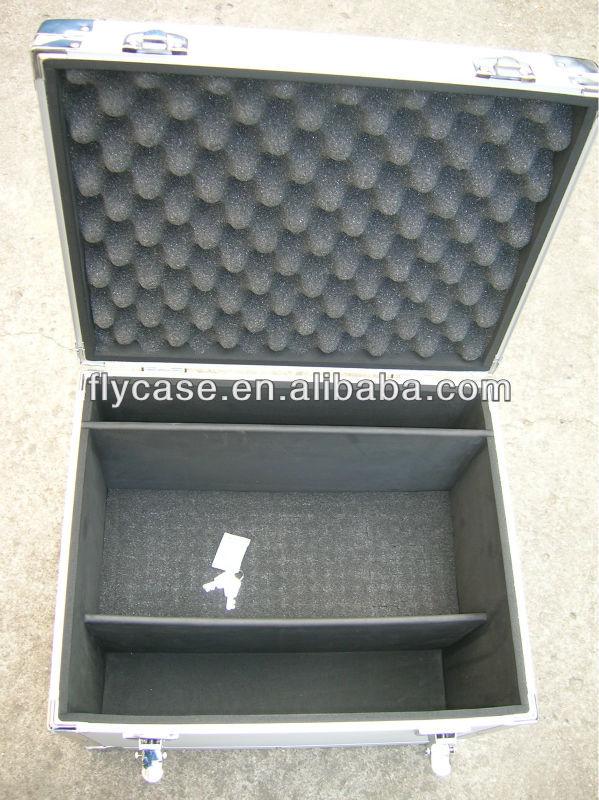big capacity aluminum camera video hard case with foam,carrying aluminum camera case