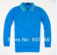 Мужская футболка Hot Sale 2013 Autumn Fashion Men T shirt Long Sleeve Shirts New Designer Popular Man Clothing