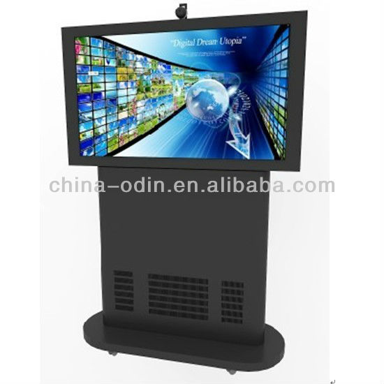 70 inch 4 touch points IR lcd touch screen monitor with PC Android WIFI 3G 1080P CE for advertising and teaching