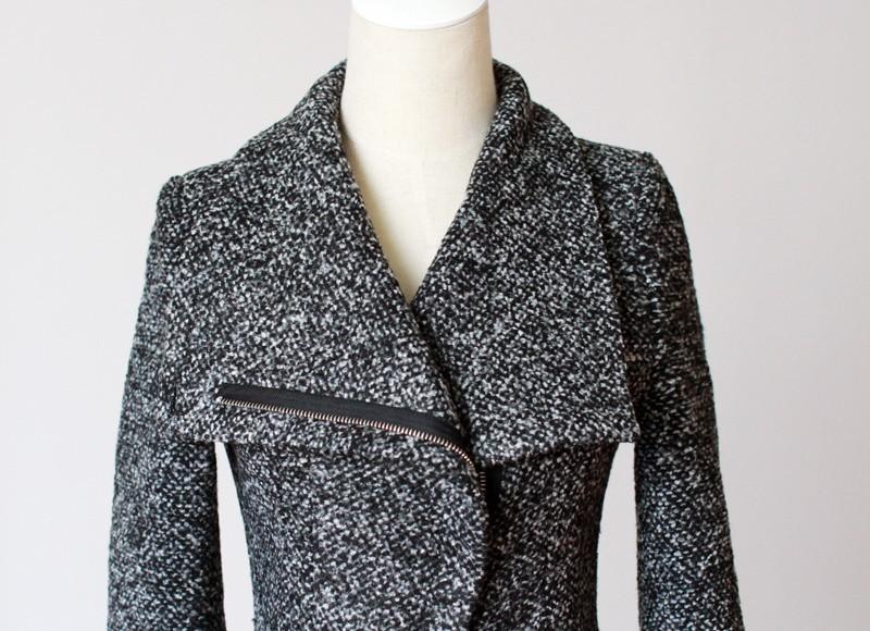 Шерстяные пальто женские