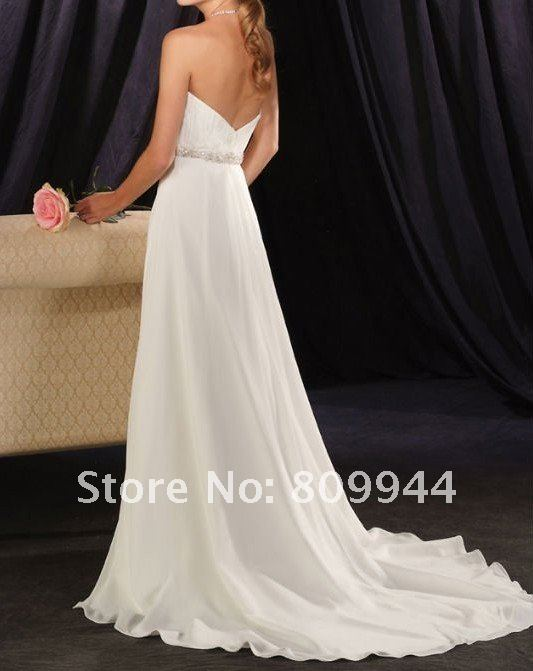 W141 Wholesale cheap strapless bridal wedding gown
