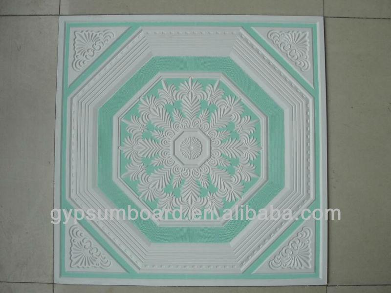 2013 Modern Artistic Pattern Flat Gypsum Plasterboard