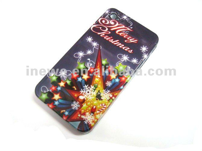 For apple iPhone 4s and iPhone 4 hard case christmas present