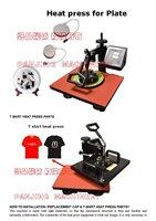 t-shirt Combo heat press machine,Heat press,Sublimation machine,CE Certificate combo Heat transfer machine