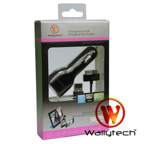 Wallytech WIA-075 USB CAR CHARGER