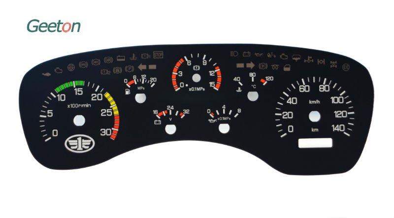 Combination Auto Dashboard