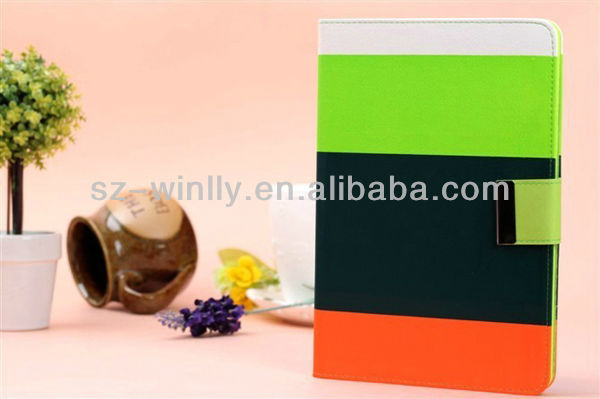 Multi-color ipad Cover for ipad mini case smart cover