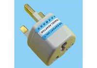 3 Pins UK Plug To US EU AU AUS Power Adaptor Socket Travel Converter #9234