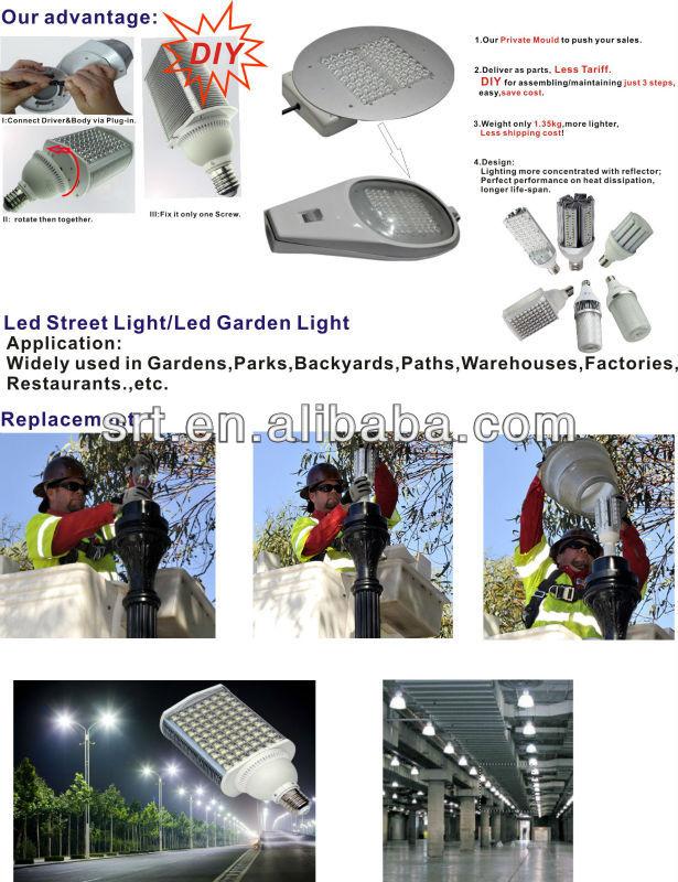 unique design 360 degree 36W led lamp