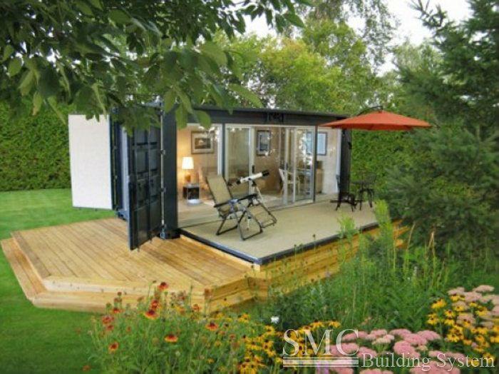 Faible coût préfabriquée maison conteneur