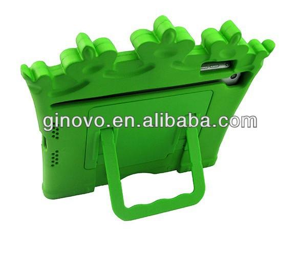 Drop Resistance Foam Plastic Case with Holder for iPad mini
