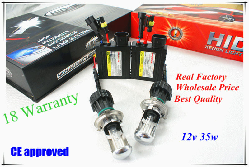 Hottest Sale! Defeilang Factory Price High Quality H4-3 HID xenon kit telescopic beam CE approved AC/DC 12v 35w