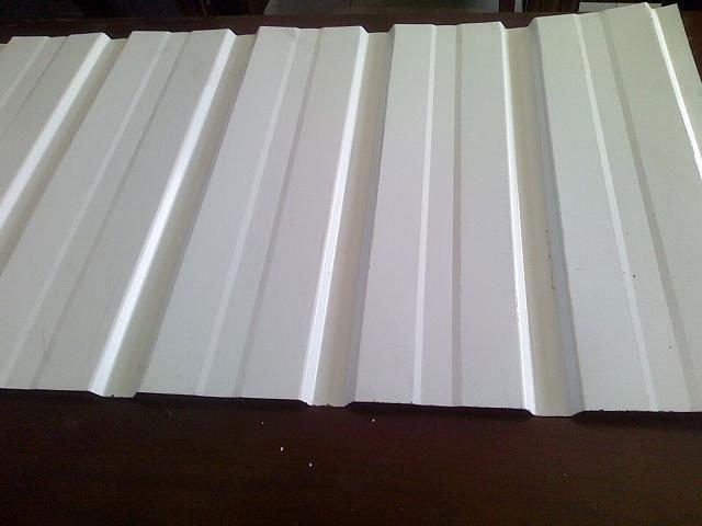 galvanized steel shingle