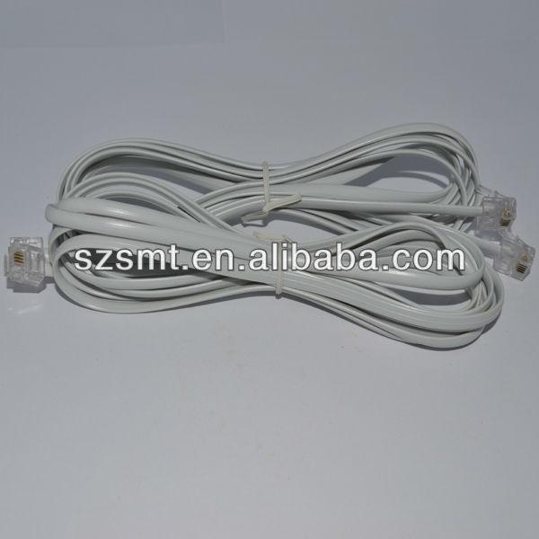 rj11/rj12 telephone handset cord
