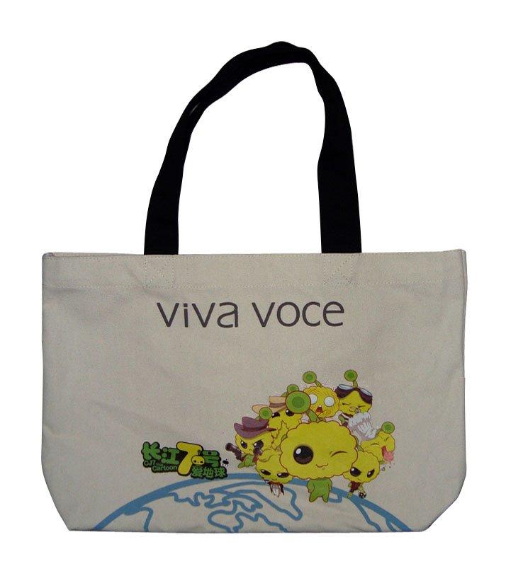 16oz cotton canvas tote bag