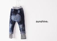 Джинсы для мальчиков Retail! Spring boys girls new design jeans children pants Hip hop jeans kids pants kids jeans PT034
