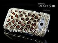 Чехол для для мобильных телефонов Luxury Bling Rhinestone Glittering Hard Cover Case for Samsung Galaxy S3/SIII i9300