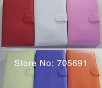 """Factory directly supply  USB Keyboard & Leather Cover Case Bag for 7"""" Tablet PC Russian Thai,Arabic keyboard case"""