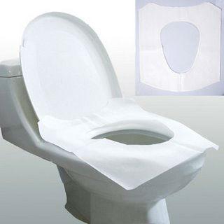 Flushable paper toilet seat cover disposable toilet seat - Decorative toilet seat covers ...