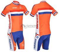 Nederland короткие велосипед велосипедов носите одежду, трикотажные изделия bib Джерси нагрудник Велосипедки трусы набор