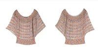 Женский пуловер Batwing