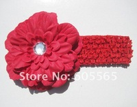 Детский аксессуар для волос Hot Selling Cheap baby hair accessories with headband and tree peony flower children Headband