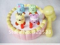 Музыкальная игрушка Best selling! Percussion fruit worm new with music playing hamster cake toy, 1 pcs