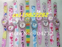 Наручные часы Mixed small style lovely cartoon watch Children watch kids watch Japan movement 500pcs/lot